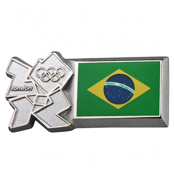 Brazil pin