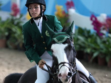 Dalma Rushdi_Malhas_on_horse