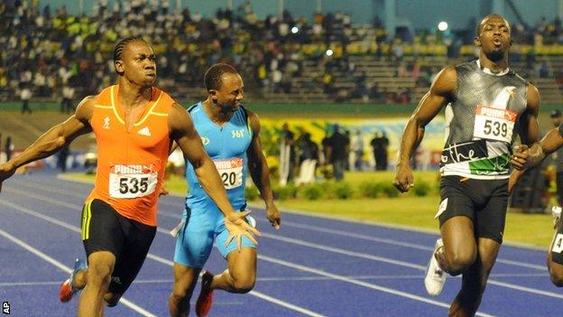 Jamaica 100m_Olympic_trial_30_June
