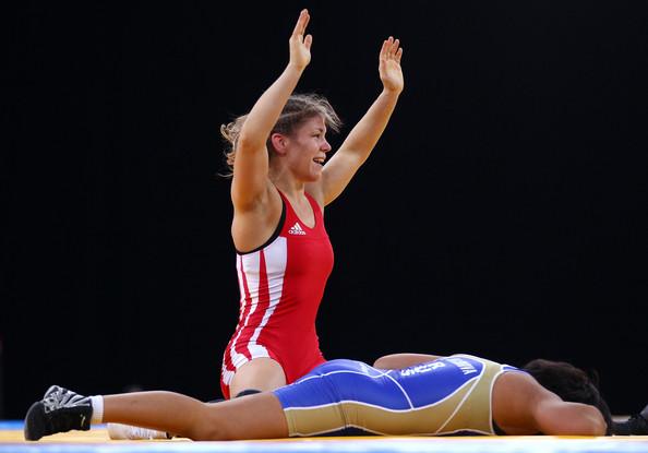 Olga Butkevych_celebrates_a_victory