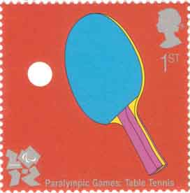 Paralympic Games_Table_Tennis_stamp