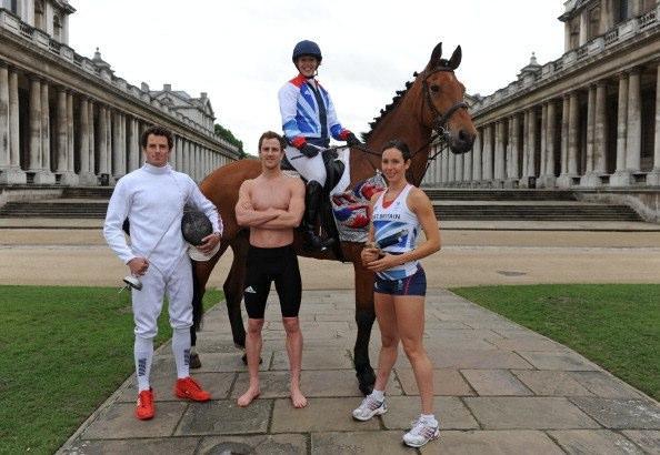 Team GB_Mod_Pent_team_2012_June_8