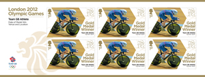 Team GB_gold_medal_minature_sheet_collection