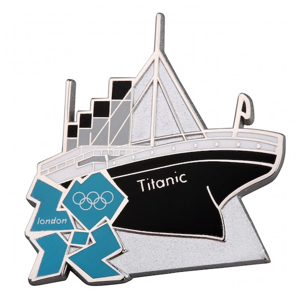 Titanic pin