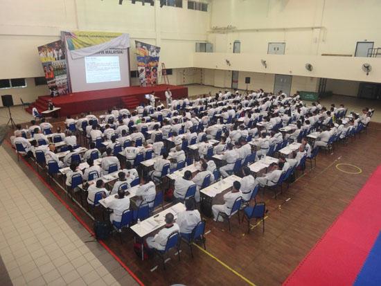 World Taekwondo_Federation_referring_course