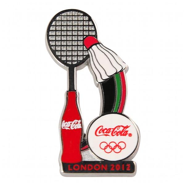 Coca-Cola Badminton_pin