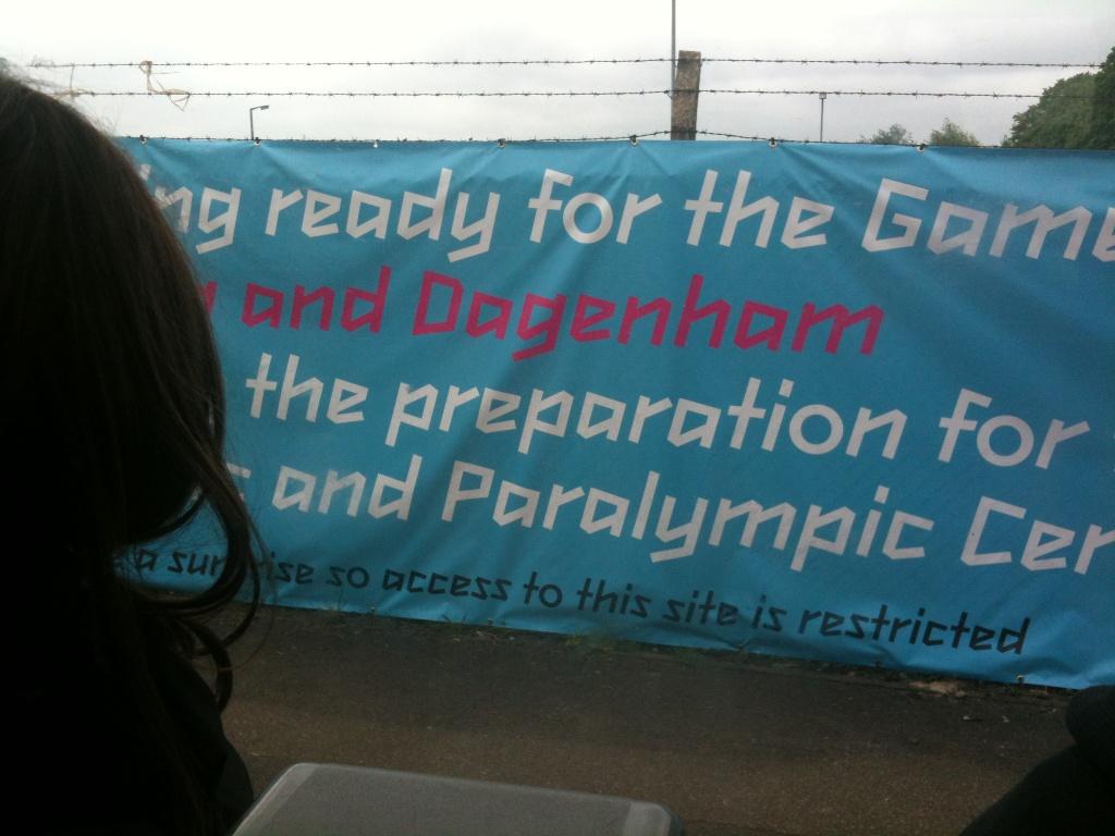 Dagenham sign