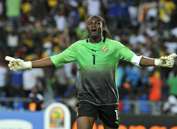 Gabon goalkeeper_Didier_Ovono_July_25