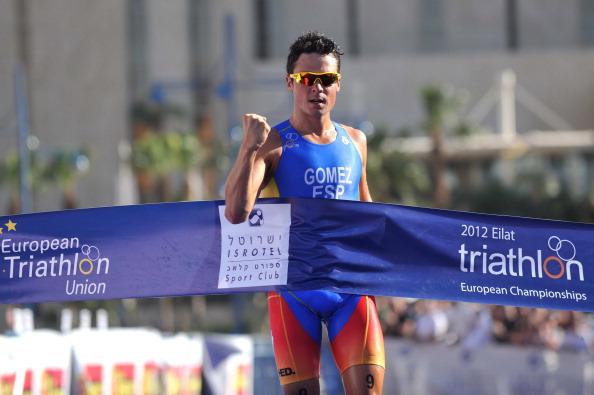 Javier Gomez_wins_European_Championships_Eilat_April_21_2012_2