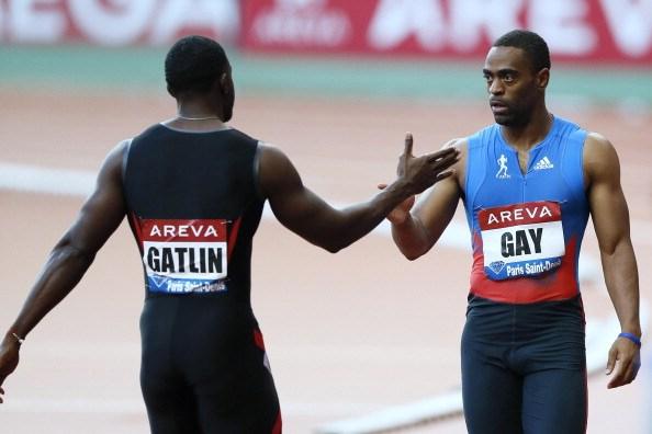 Justin Gatlin_and_Gay_July_12