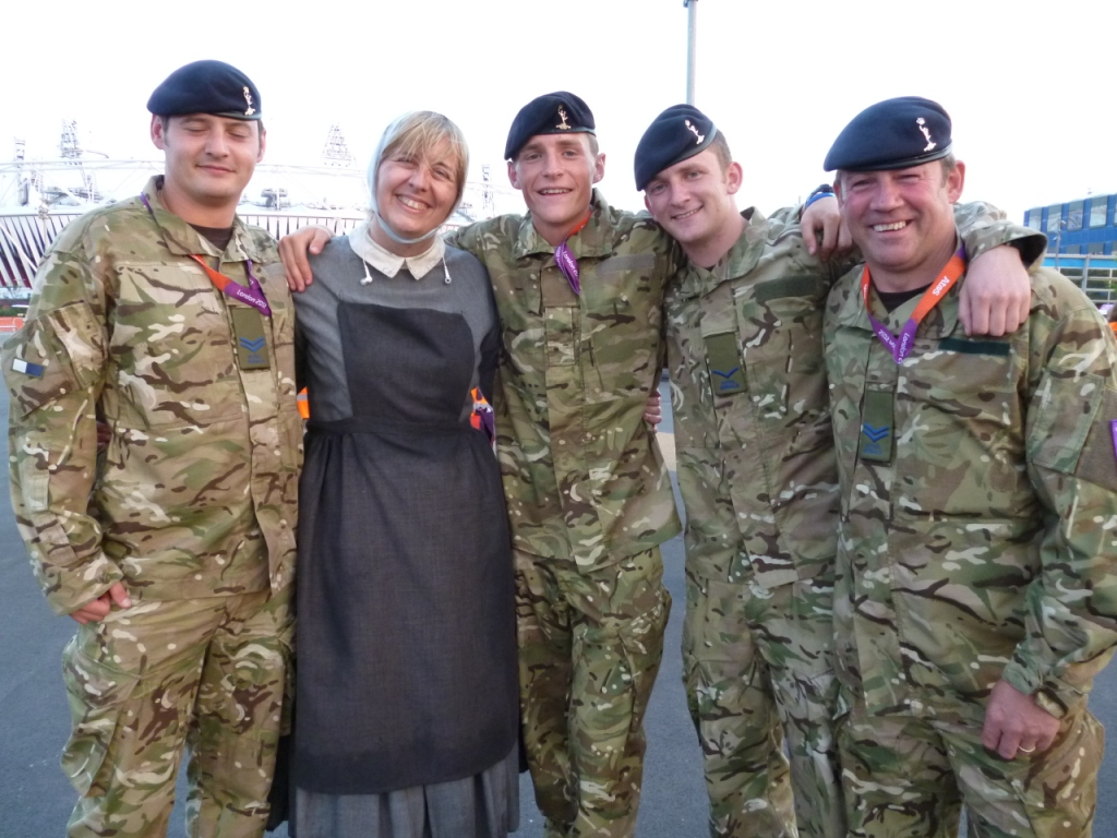 Louisa and_soldiers