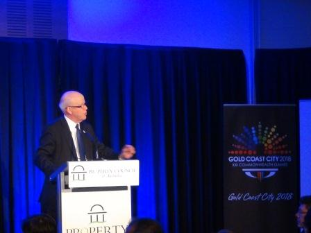 Nigel Chamier_addressing_conference_in_Gold_Coast_June_2012