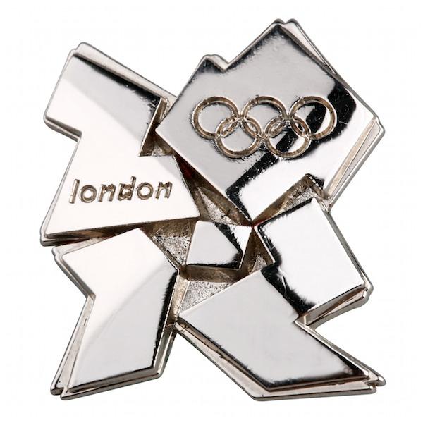 Silver 3D_Olympics_logo_pin