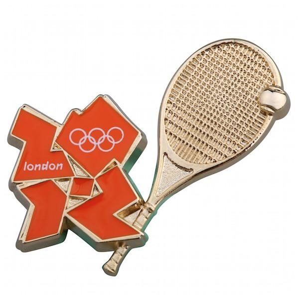 Tennis pin