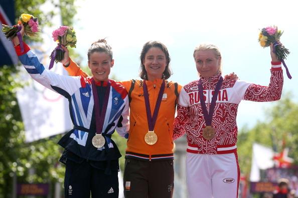 Womens cycling_road_race_podium_29_July