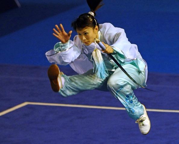 Yi Jun_Tao_of_Singapore_at_the_womens_wushu_taiji_jian_competition