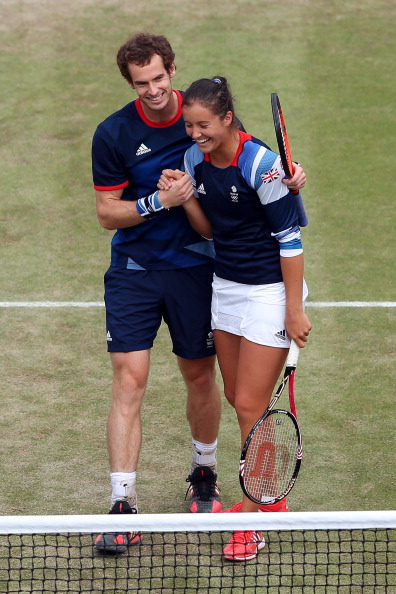 Andy Murray_and_Laura_Robson_4_August