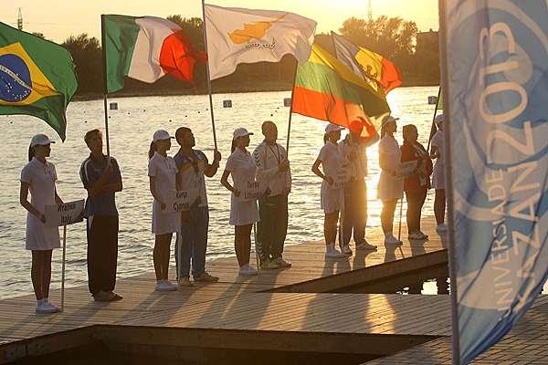 Athletes at_Kazan_World_University_Canoe_Sprint_Championships_August_30_