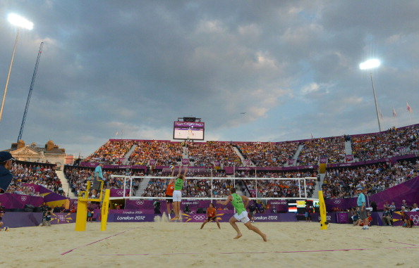 Beach volleyball_at_Horse_Guards_Parade_22_August