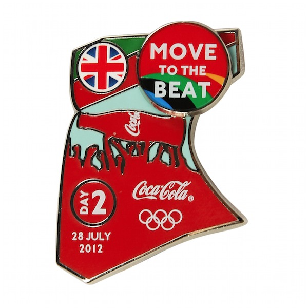 Coca-Cola Move_to_the_Beat_pin