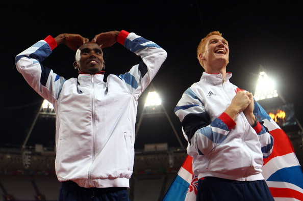 Mo Farah_Mo-bot_celebration_4_August