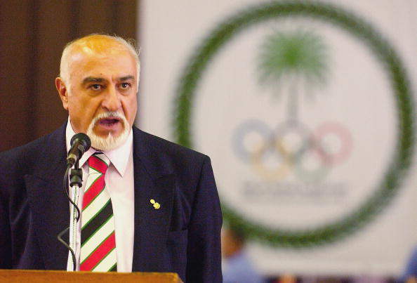 President of_the_National_Olympic_Committee_of_Iraq_Ahmed_al_Samarrai