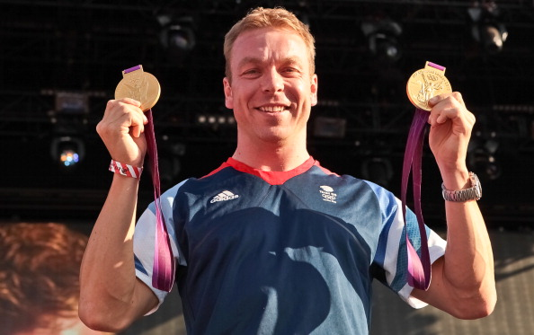 Sir Chris_Hoy_won_gold_in_the_cycling_team_sprint_and_the_keirin_at_London_2012_making_him_Britains_most_decorated_Olympian_with_a_total_of_seven_Olympic_medals_six_of_which_are_gold_medals