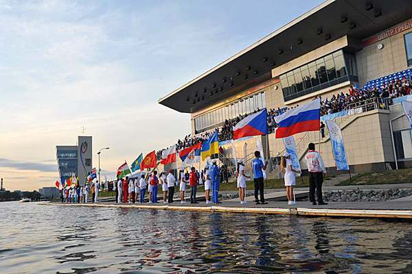 World University_Canoe_Sprint_Championship_opening_ceremony_August_30