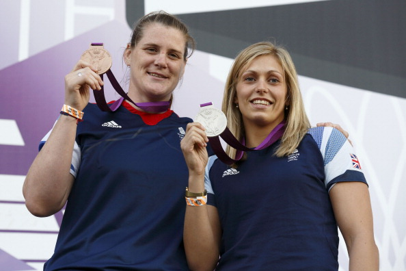 Britains bronze_medal_Judo_athlete_Karina_Bryant_L_with_silver_medal_Judo_athlete_Gemma_Gibbons