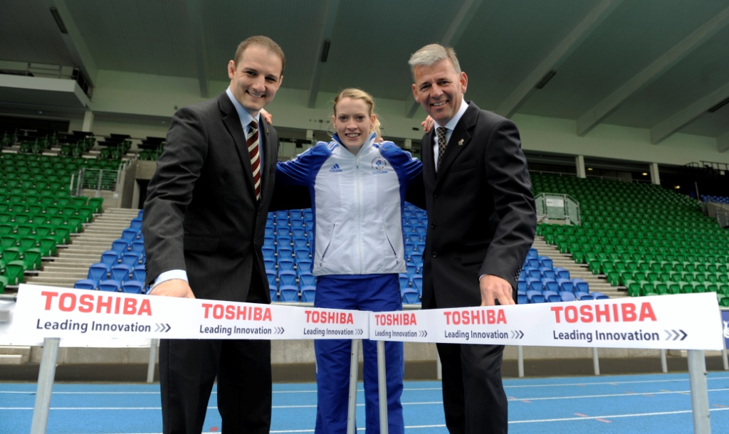 David Grevemberg_Glasgow_2014_Chief_Executive_Eilidh_Child_and_Adam_Sheppard_Toshiba_TEC_UK_Managing_Director