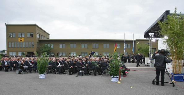 Germany Commemorates_Victims_Of_1972_Olympic_Games_Attack_Set_5