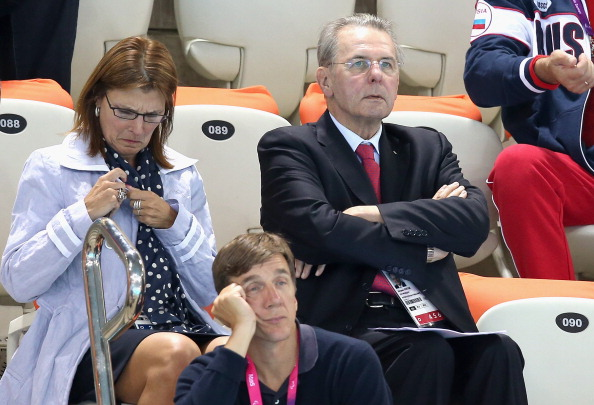 Jacques Rogge_watches_swimming_London_2012_Paralympics_August_30_2012
