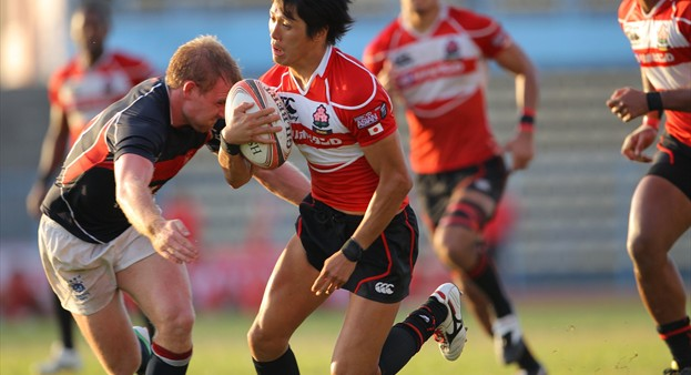 Japan edged_Hong_Kong_33-22_in_the_Borneo_final