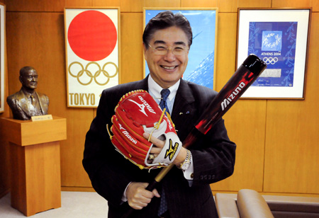 Masato Mizuno_was_the_President_of_Mizuno_Corporation_for_23_years_until_he_stood_down_to_lead_Tokyos_bid_for_the_2020_Olympics_and_Paralympics
