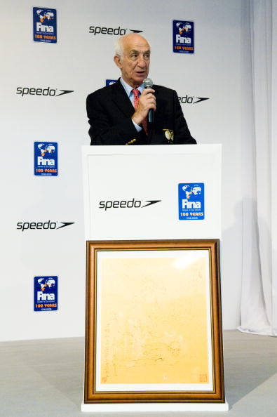 Mustapha Larfaoui_speaking_at_FINA_event