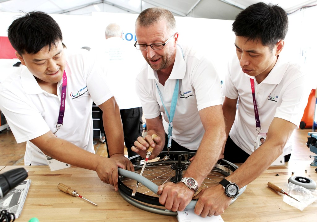 Ottobock worked_at_London_2012_to_repair_equipment_used_by_Paralympians_and_to_get_the_athletes_back_into_competition_as_fast_as_possible