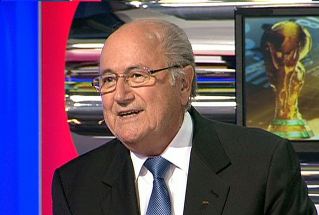 Sepp Blatter_on_Russian_Channel_One_before_2018_host_city_announcement_September_29_2012