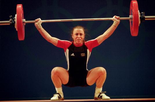 Tara Nott_wins_Olympic_gold_Sydney_2000