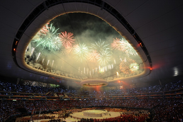 View of_the_Opening_Ceremony_for_the_2011_XVI_Pan_American_Games_at_Omnilife_Stadium