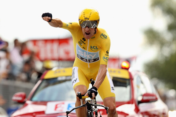 Bradley Wiggins of Great Britain 2012 Tour de France d2b8fceee
