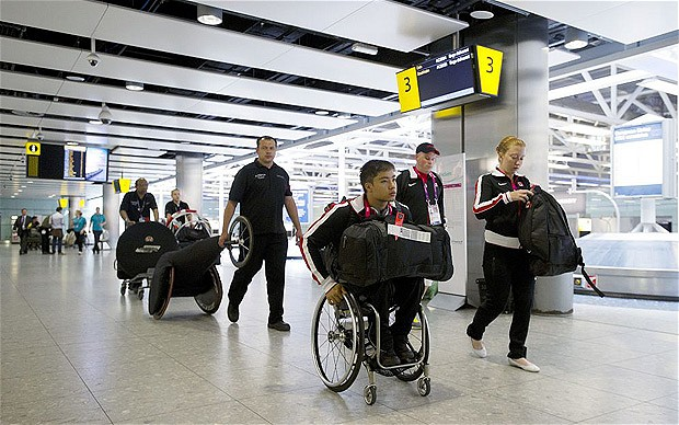 Heathrow Paralympics