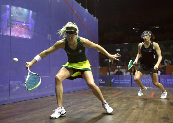 Kasey Brown_of_Australia__Joelle_King_of_New_Zealand_in_the_Delhi_2010_Commonwealth_Games