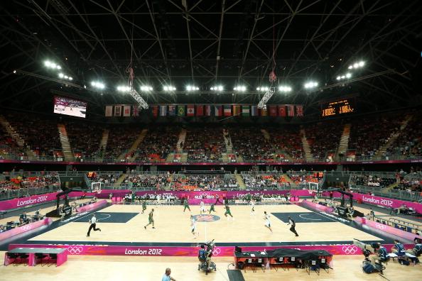 London 2012_Basketball_Arena