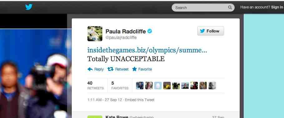 Paula Radcliffe_Twitter_Oct_7_