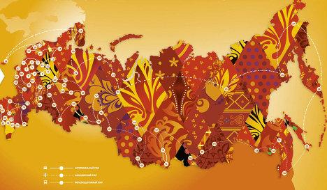 Sochi 2014_Torch_Relay_map
