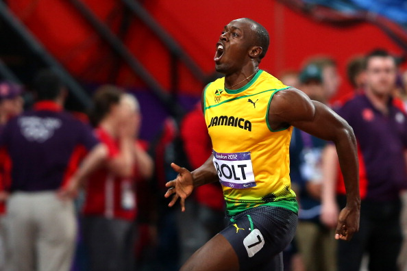 Usain Bolt_celebrates_winning_gold_in_the_mens_100m_at_the_London_2012_Olympics