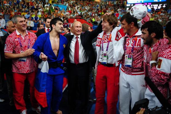 Vladimir Putin_Russian_President__Russian_judo_team