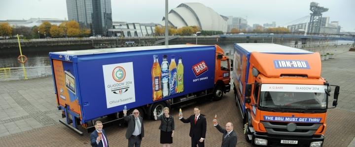 AG Barr Glasgow 2014 Sponsorship launch