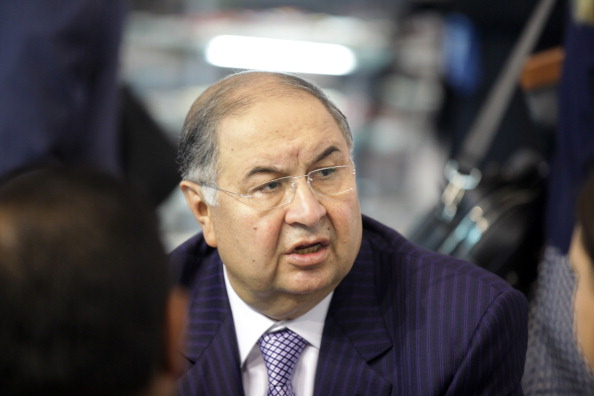 Alisher Usmanov St Petersburg 2 June 2012