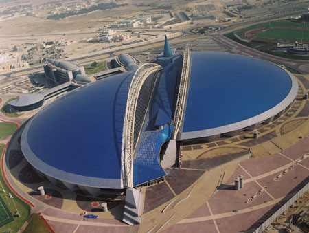 Aspire Sports Dome Doha Qatar1